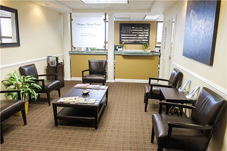 Reception Area - Arlington Dental Center